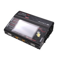 HTRC AC DC 400W RC Battery Balance Charger Discharger Dual Channel for RC LiPo LiFe