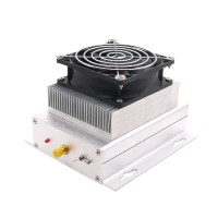 HF Radio Power Amplifier UHF 400-470MHZ 433MHZ 80W Ham Interphone + Heatsink + Fan
