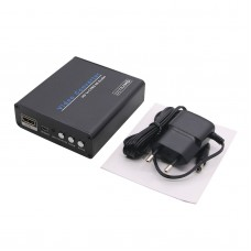 HDMI to AV Converter 4K HDMI to CVBS Converter Scaler for TV Monitor Projector HDV-960