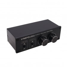 Fully Balanced Passive Preamp Active Speaker Volume Control Two Input & Two Output A977
