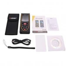 80m Laser Distance Meter Digital Laser Rangefinder Voice Broadcast For Indoors Outdoors Uses SW-Q80