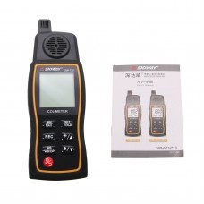 3-In-1 Handheld CO2 Meter Monitor Carbon Dioxide Temperature Humidity Tester Detector SW-723