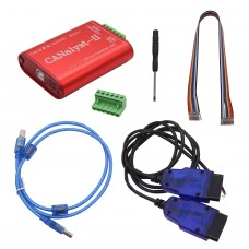 USB to CAN Analyzer CAN Bus Analyzer Tool  For ZLG CANalyst-II Top Version w/ Fault Tolerant CAN