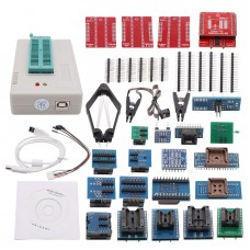 TL866II PLUS Programmer USB BIOS Programmer Support For NAND Flash AVR MCU GAL PIC SPI + 28 Adapters