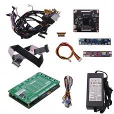 4K 2K LVDS LCD Tester LCD LED Panel Tester w/ 4K Adapter Board Max 2048x1536 For TV Laptop Screen