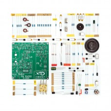 88-108MHz FM Radio Kit FM Radio DIY Radio Receiver Kit Fully Discrete Unfinished
