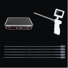 "Sheep Visual Artificial Insemination Kit w/ Round Smooth Probe Head 3.5"" Adjustable Display BTS-YKS"