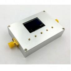 """100KHz-10GHz RF Power Meter Settable RF Power Attenuation Value CNC Shell 0.96"""" OLED RF-10000-V2.0"""