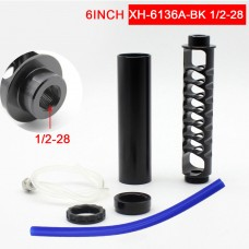 "6"" Spiral 1/2-28 Car Fuel Filter Kit 1/2 28 Fuel Filter Perfect For NAPA4003 WIX24003"