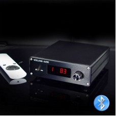 PGA2310 Bluetooth 5.0 Remote Preamp 2 Channel Preamplifier Volume Control Multiple Input Selection