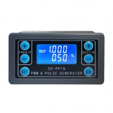 Dual Mode PWM Generator & Pulse Generator Frequency Duty Cycle Adjustable Module with Shell ZK-PP1K