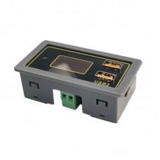 Car Storage Battery Voltage Display Meter Lithium Battery Meter Gauge Input Voltage DC6V-30V ZK-BC