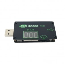 USB Fan Speed Controller LED Dimming Module 10W Output DC1-24V For Office Vehicles ZK-BUFS Unfinished
