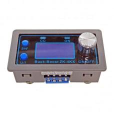 DC-DC Buck Boost Converter CC CV Output 0.5-30V Adjustable Power Supply Module ZK-4KX