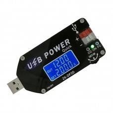 Adjustable USB Power Supply 15W USB Fan Speed Controller CV CC Support Fast Charge ZK-DP3D