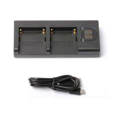 ZITAY NP-F550 Charger with USB Cable Fit For Dual F550 F750 F970 FM50 FM500H