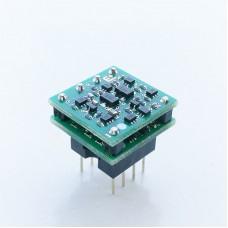 OP8802 Dual Op Amp Module Discrete Component Class A Large Current For SS3602 OPA1612 LME49720