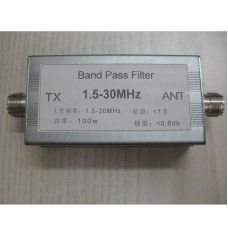 1.5-30MHz Shortwave Band Pass Filter BPF Strengthen Anti-Interference Capacity For Radios