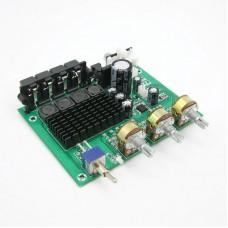 TZT TPA3116D2 80W*2 Stereo Amplifier Audio Board TPA3116 Digital Amplifier Sound Preamplifier Tone High Power DC12-24V