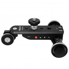 3-Wheel Auto Dolly Car Motorized Video Slider 5 Speeds Max. Load 4KG For DSLR Smartphone PPL-06S PRO