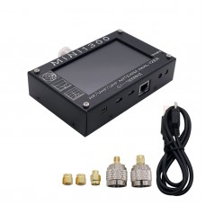 "Mini1300 HF/VHF/UHF Antenna Analyzer 0.1-1300MHz with 4.3"" TFT LCD Touch Screen Aluminum Alloy Shell"