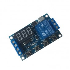 1-Channel Relay Module Delay Power Off Trigger Delay Cycle Timing Circuit Switch
