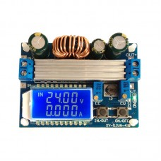 35W Adjustable Buck Boost Module Step Up Down Converter CV CC Voltage Current Meter with LCD Display