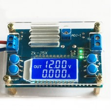 5A CNC Buck Converter Module with Shell Step Down Power Supply Module CV CC LCD Display Unassembled
