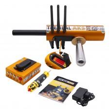 The Real AKS Long Range Gold Detector Golden 6 Antennas Plastic Case for Gold Silver + Filter