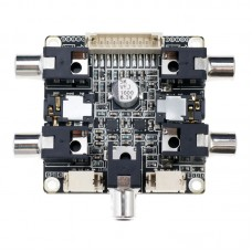 Breakout Board for ADAU1701 2.1 DSP Audio Processor Pre-tone Adjustment Volume Control Board Electronic Bi-frequency