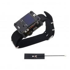 DSTIKE WiFi Deauther Wristband Smart Watch Wearable ESP8266 Development Board For Arduino Black