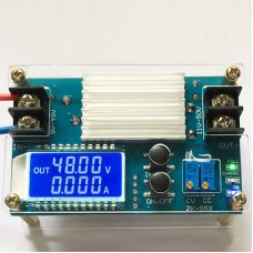 DC-DC Step Up Boost Module Converter CV CC Power Supply Module 9-45V to 10-50V with LCD Display