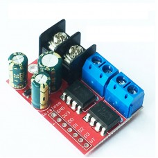 5A 2-Channel DC Motor Driver Module CW CCW PWM Speed Control Remote Control of Relay Light Strip