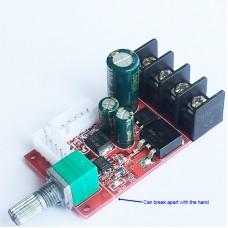 15A DC Motor Speed Controller Board LED Dimmer DC 10V-50V Speed Switch
