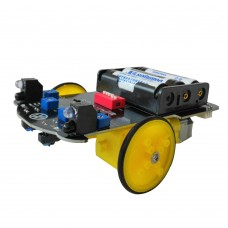 2WD RC Smart Robot Car Kit Infrared Line Tracking Following Obstacle Avoidance Unassembled