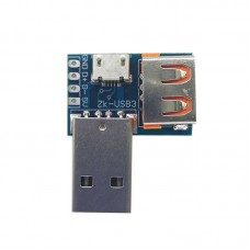 USB Adapter Board USB Male to Female Micro USB to Header 4P 2.54mm with Multiple Interfaces
