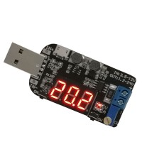 USB Buck Boost Converter Step Up Down Adjustable Power Supply Module IN 3.5-12V OUT 1.2-24V