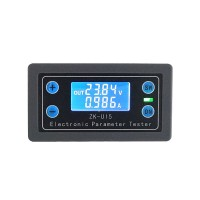 Voltmeter Ammeter Power Capacity Time Low-Voltage Over-Voltage Protections Charge Discharge Control