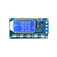 Dual Mode PWM Generator & Pulse Generator Frequency Duty Cycle Adjustable Module without Shell ZK-PP1