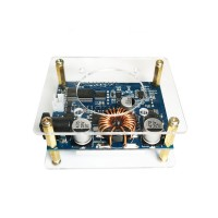35W 4A Adjustable Buck Boost Step Up Step Down Power Supply Module without Fan Unassembled
