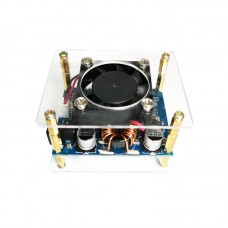 60W 6A Adjustable Buck Boost Step Up Step Down Power Supply Module with Fan Unassembled