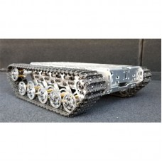 RC Tank Chassis Metal Tracked Robot Chassis Smart Robot Car Chassis Shock Absorption Disassembled