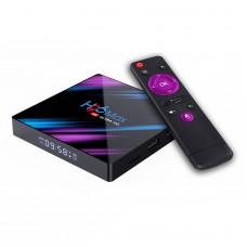 TV Set Top Box For Android 9.0 OS 4K HDR Ultra HD Dual WiFi Bluetooth 4.0 H96 Max RK3318 (4+64G)