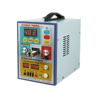 SUNKKO 769D 220V Spot Welder Welding Machine Soldering Station USB Charging Test (S-70BN Welder Pen)