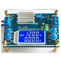 5A CNC Buck Converter Step Down Module with Crystal Shell 6.5-36V to 1.2-32V Unassembled ZK-J5X