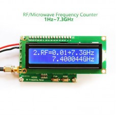 1Hz-7.3GHz RF Frequency Meter Counter For Measuring Pulse Frequency Radio Frequency