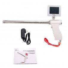 Insemination Kit for Cows Cattle Visual Insemination Gun w/ Adjustable Screen Basic Version