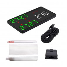 Head-Up Display Support OBD2 TPMS Tire Pressure Monitor System HUD Kit V612