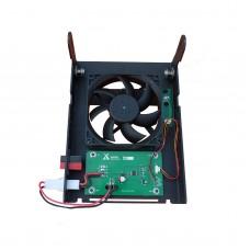 Radio Mounting Bracket Cooling Fan For Xiegu G90 G90S Car Walkie Talkie Amateur Shortwave Radio