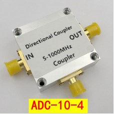 5-1000MHz RF Directional Coupler Wideband Directional Coupler SMA Connectors  ADC-10-4
